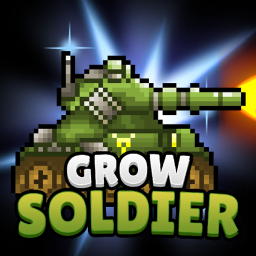 Grow Soldier - Idle Merge game أيقونة