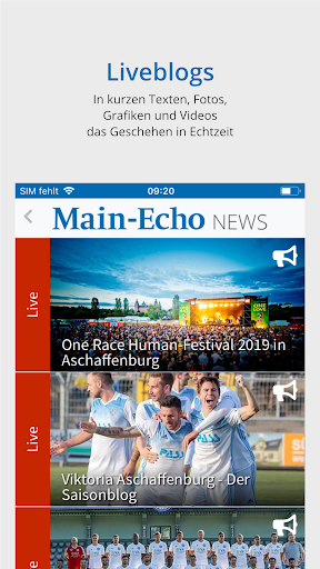 Main-Echo NEWS 4 تصوير الشاشة