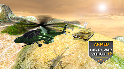 Armed Vehicle 4x4 Tug War: Racing Simulator screenshot 1