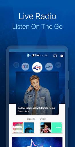 Capital FM Radio App 2 تصوير الشاشة