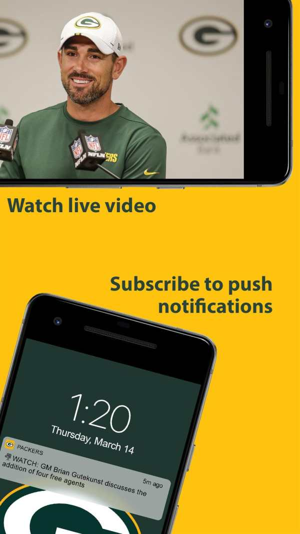 Official Green Bay Packers screenshot 6