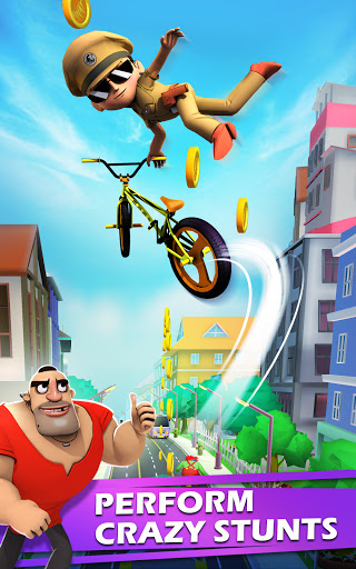 Little Singham Cycle Race screenshot 20