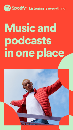 Spotify: Listen to podcasts & find music you love screenshot 1