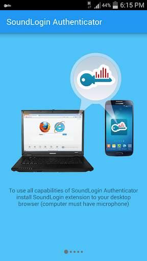 SoundLogin Authenticator скриншот 6