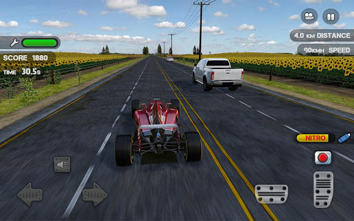 Race the Traffic Nitro screenshot 2