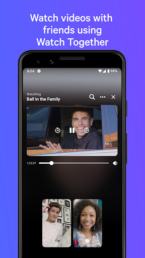 Messenger - مراسلات نصية ومكالمات فيديو بالمجان 3 تصوير الشاشة