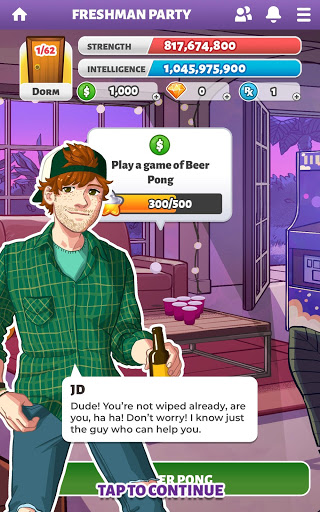 Party in my Dorm: College Life Roleplay Chat Game screenshot 7