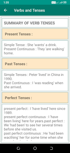 English Grammar Book 5 تصوير الشاشة