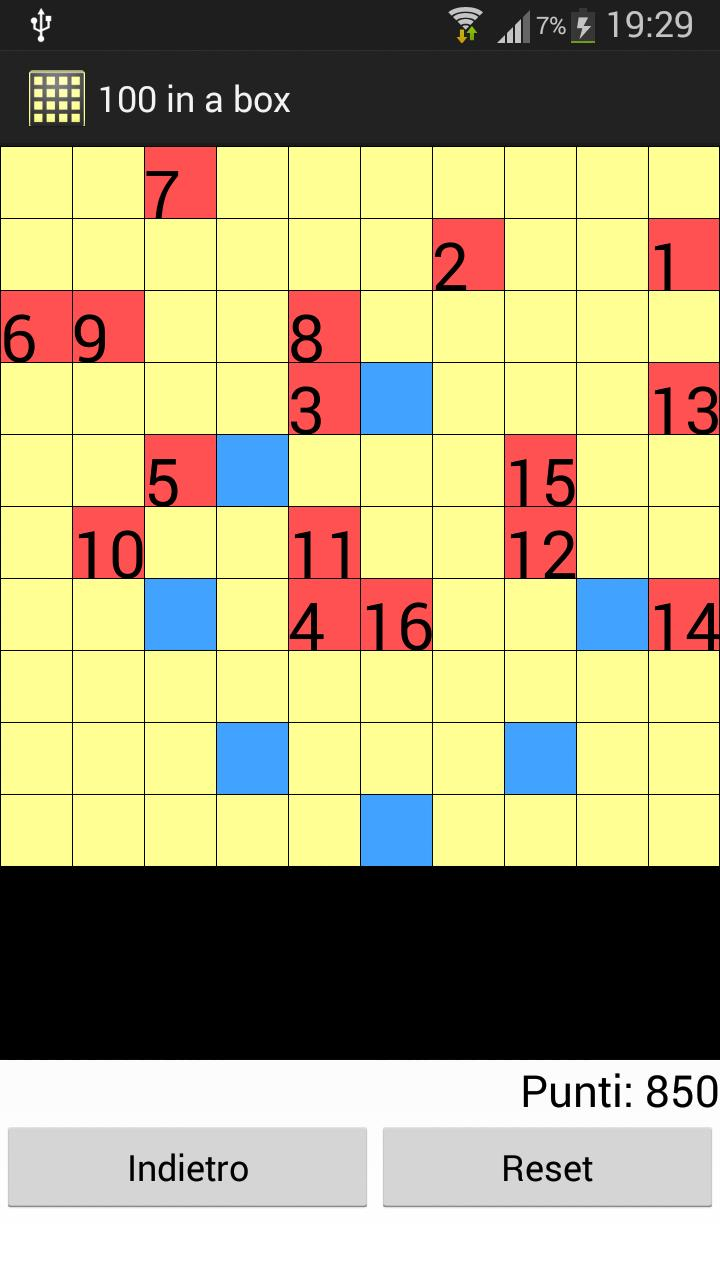 100 in a box screenshot 1