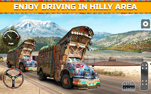 PK Cargo Truck Transport Game 2018 screenshot 4