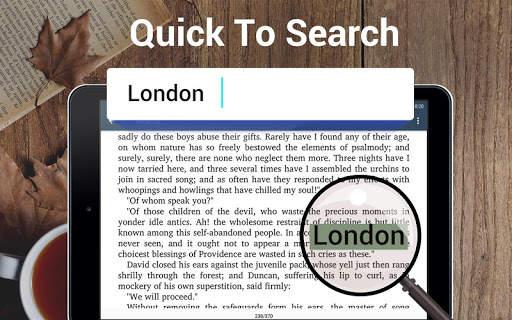 قارئ الكتاب الاليكتروني و ريدر 11 تصوير الشاشة