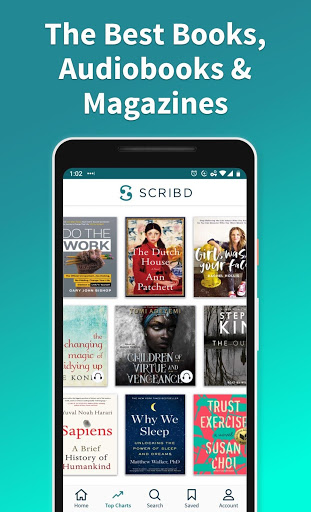 Scribd: Audiobooks & ebooks screenshot 1