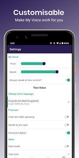My Voice - Text To Speech (TTS) screenshot 5