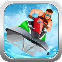 Crazy Boat Racing on 9Apps