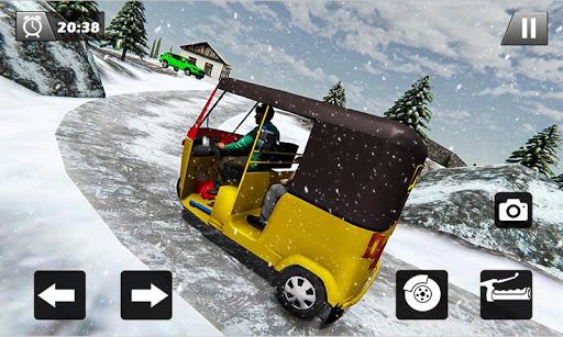 Tuk Tuk Driver Offroad Drive: Transport Passenger screenshot 2
