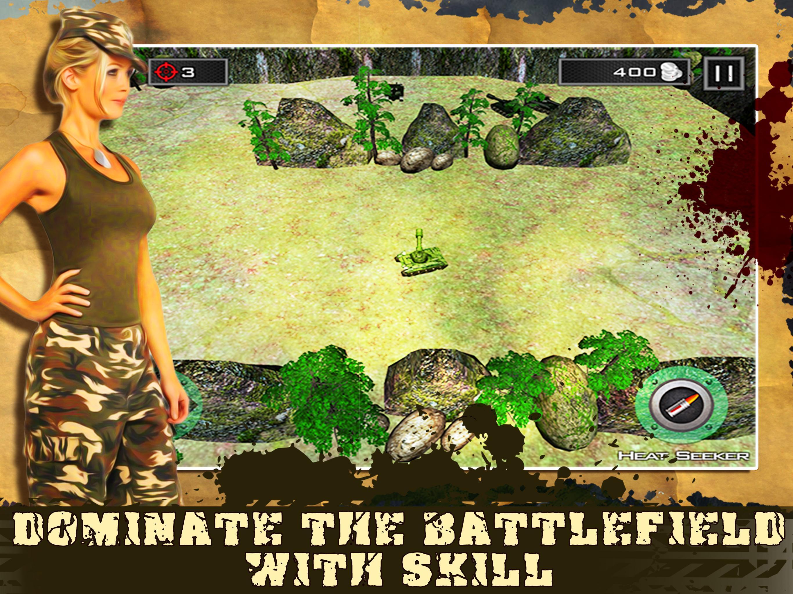Mini Tank Battle 4 تصوير الشاشة