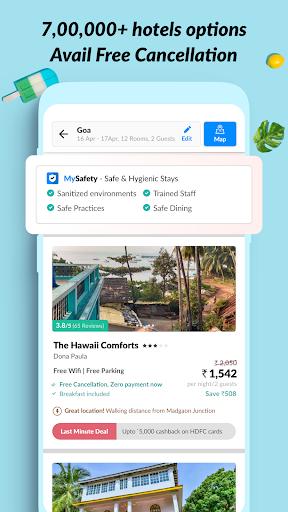 MakeMyTrip Travel Booking: Flights, Hotels, Trains screenshot 4