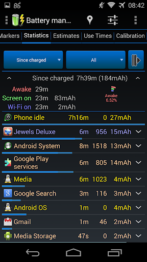 3C Battery Manager 6 تصوير الشاشة