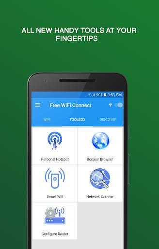 Бесплатный Wi-Fi соединение screenshot 3