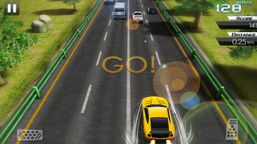 Mini Crazy Traffic Highway Race screenshot 8