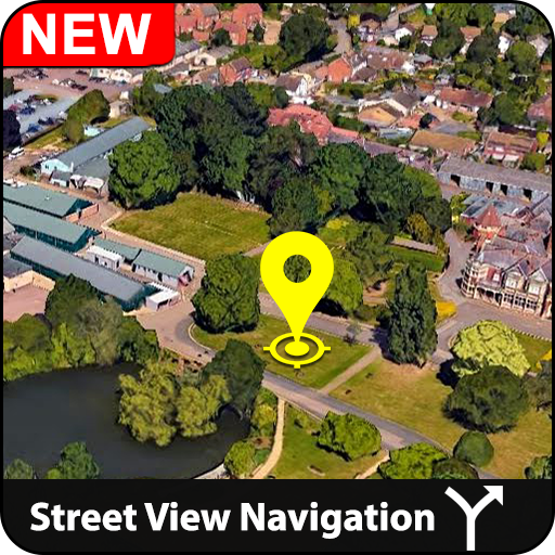 GPS Map, Live Street View: Navigation & Direction icon