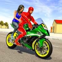 Superhero Bike Taxi Simulator - Bike Driving Games on APKTom