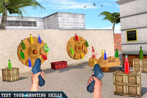 असली बोतल शूटिंग गन गेम्स- मुफ्त शूटिंग गेम्स 2020 स्क्रीनशॉट 2