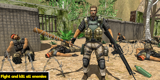 Commando behind the Jail- Escape Plan 2019 screenshot 3