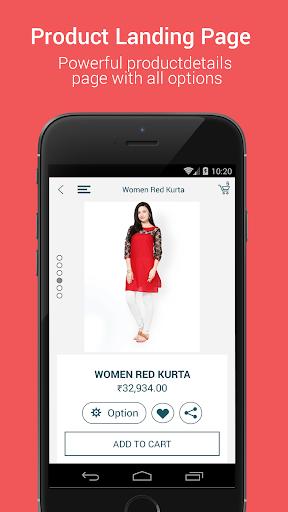 Niftyapp - Magento Mobile App screenshot 6