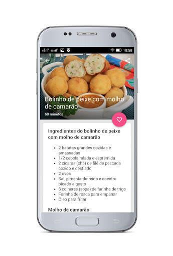 Receitas Fáceis - Receitas Simples e Deliciosas screenshot 8