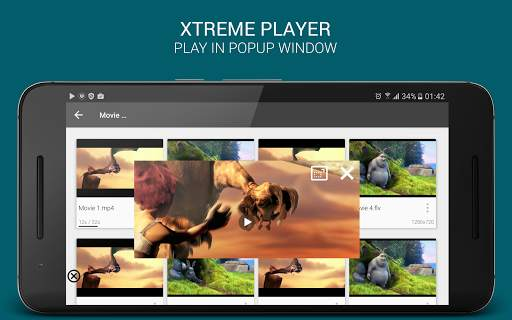 XtremePlayer HD Media Player 9 تصوير الشاشة