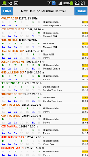 eRail.in Railways Train Time Table, Seats, Fare screenshot 7