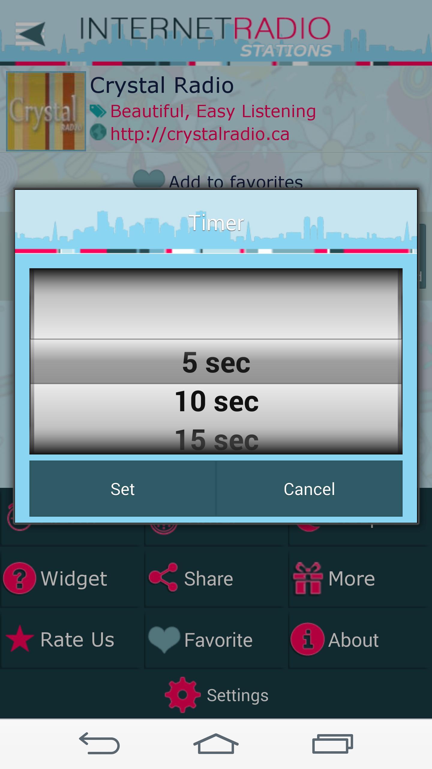 Internet Radio Stations screenshot 5