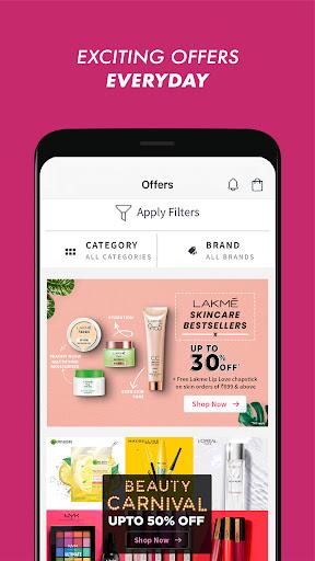 Nykaa: Beauty Shopping App. Buy Makeup & Cosmetics screenshot 3