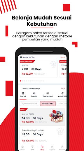 MyTelkomsel - Beli Pulsa/Paket & Dapat Kuota 7,5GB screenshot 5