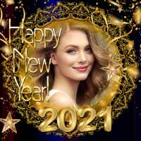 2021 New Year Photo Frames Greeting Wishes icon