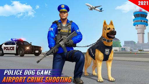 Police Dog Airport Crime Chase : Dog Games screenshot 2