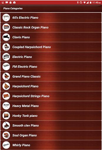 Piano Keyboard Classic Music 3 تصوير الشاشة