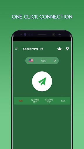 Speed VPN Pro-Fast, Secure, Free Unlimited Proxy screenshot 1