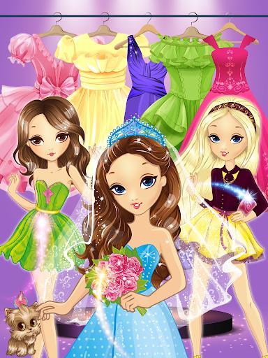 Princess Coloring Book Glitter & Girls Dress Up screenshot 4