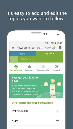 News Suite by Sony 4 تصوير الشاشة
