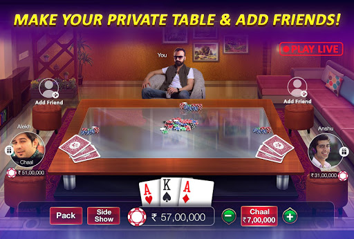 Teen Patti Gold - 3 Patti & Rummy & Poker screenshot 7