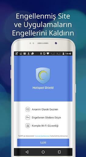 Hotspot Shield Ücretsiz VPN vekil & WiFi Güvenliği screenshot 6