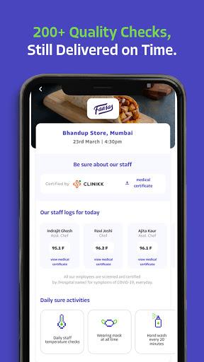 EatSure - Order Food Online & Food Delivery 7 تصوير الشاشة