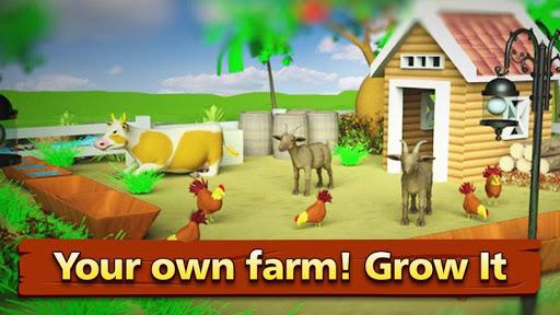 Farm Offline Games : Village Happy Farming screenshot 1