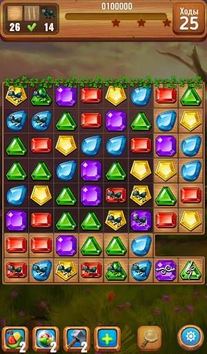 Самоцветы или кристаллы ?  Три в ряд screenshot 6