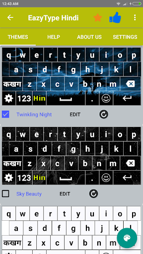 Quick Hindi Keyboard Emoji & Stickers Gifs screenshot 5