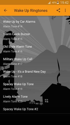 استيقظ المنبه نغمات 3 تصوير الشاشة