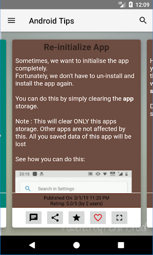Tips & Tricks for Android screenshot 1