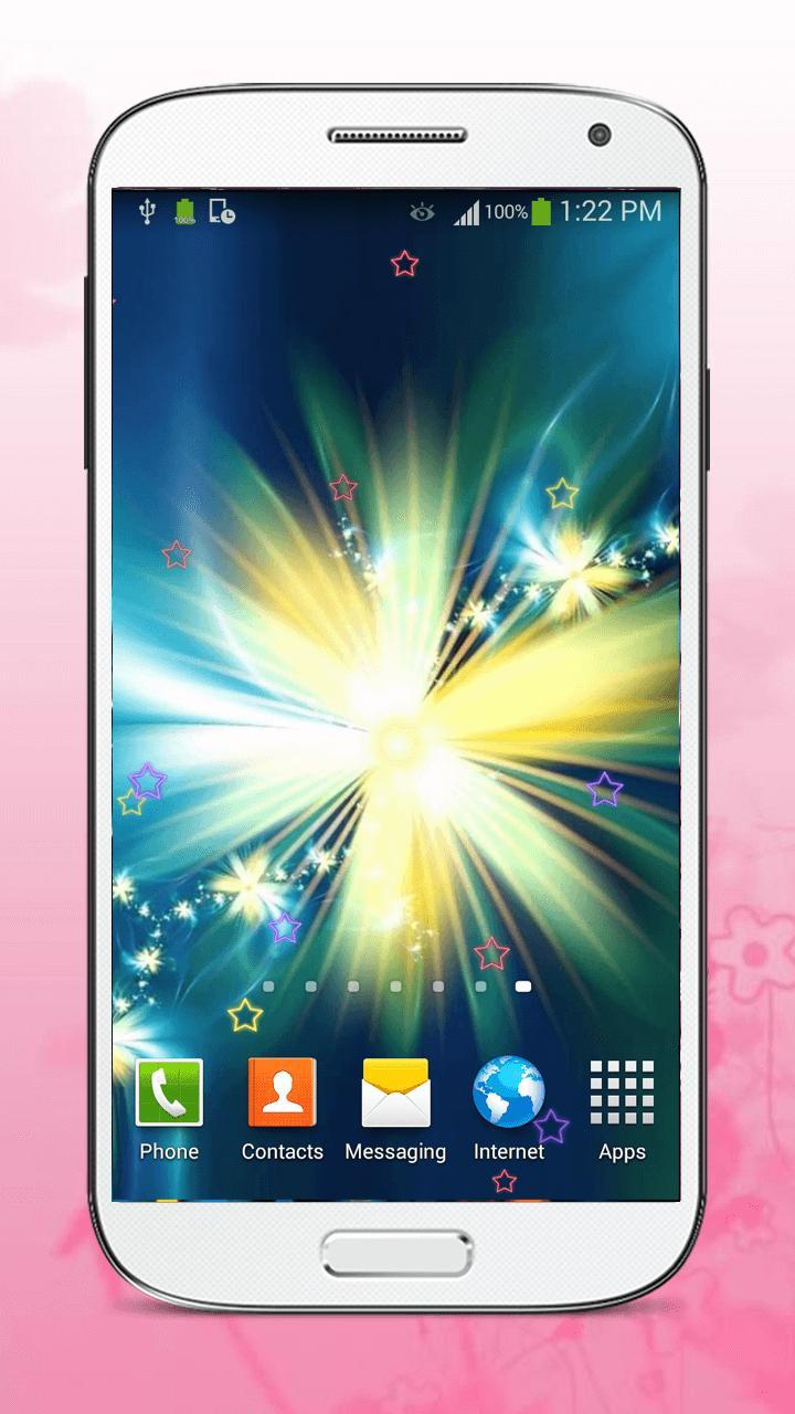Luminous Flower Live Wallpaper screenshot 7